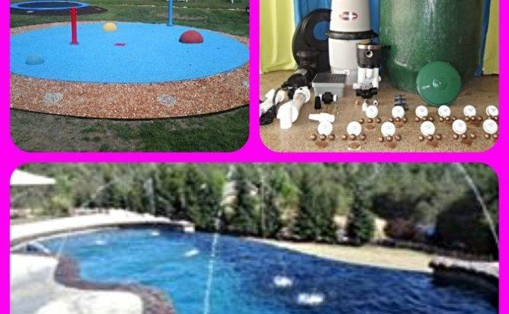 Diy Splash Pad Kit Add Your Swimming Pool