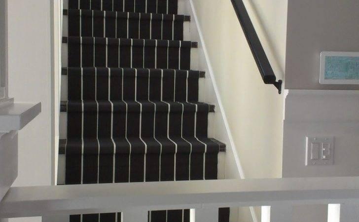Diy Stair Runner Cute Staircases Pinterest