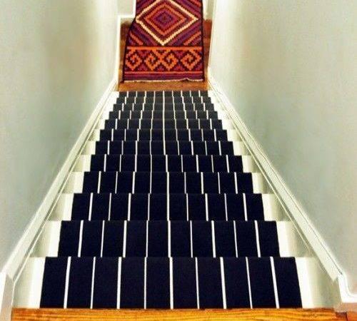 Diy Stair Runner Little Green Notebook Love Project Under