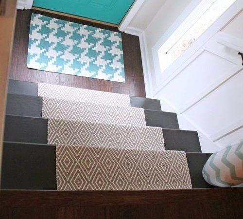 Diy Stair Runner Love Door Mat