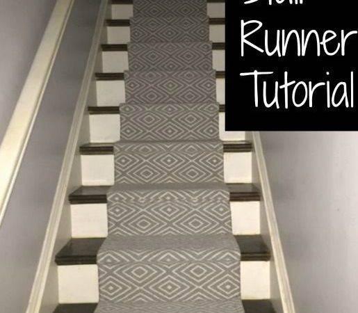 Diy Stair Runner Runners Tutorials Home Decor