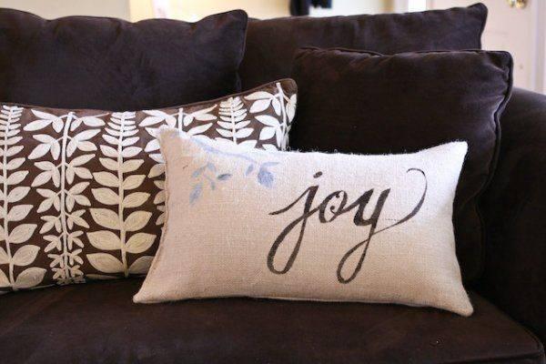 Diy Throw Pillows Burlap Pillow Covers Accent