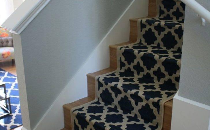 Diy Tutorial Installing Stair Runner Stairs Pinterest