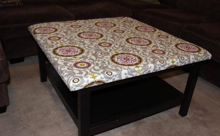 Diy Upholstered Ottoman Coffee Table Tables