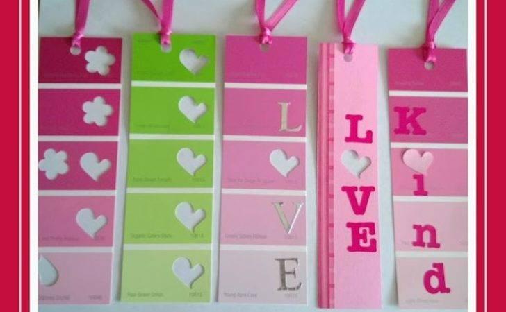 Diy Valentine Bookmarks Ideas Pinterest