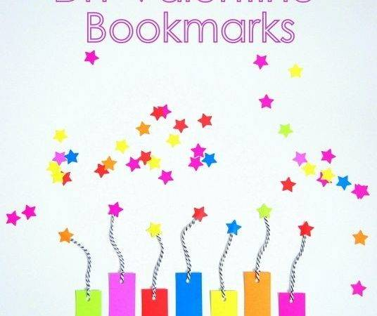 Diy Valentine Bookmarks Northstory