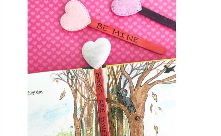 Diy Valentine Bookmarks
