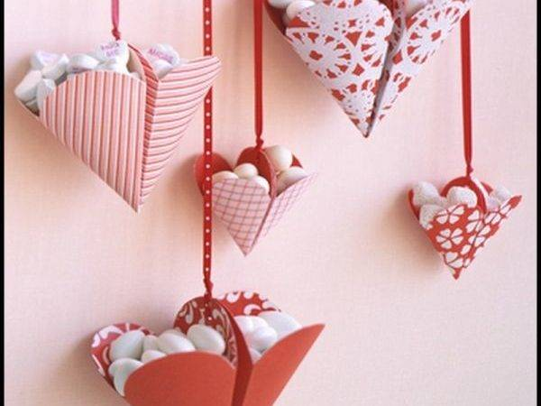 Diy Valentine Day Heart Shaped Crafts Say Love