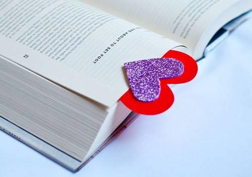 Diy Valentines Day Bookmark Zps