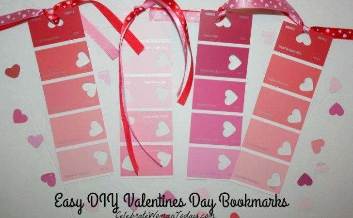 Diy Valentines Day Bookmarks Women Lifestyle Health Fashion Winning