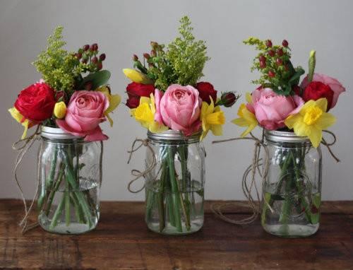 Diy Weddings Make Hanging Mason Jar Flower Vases