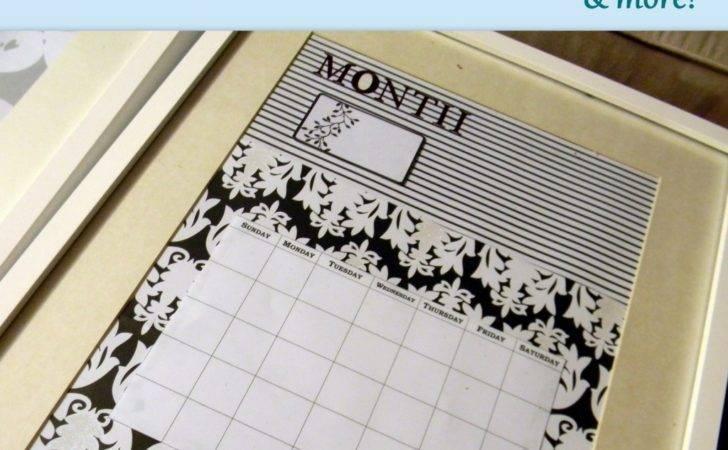 Diy White Board Calendar More