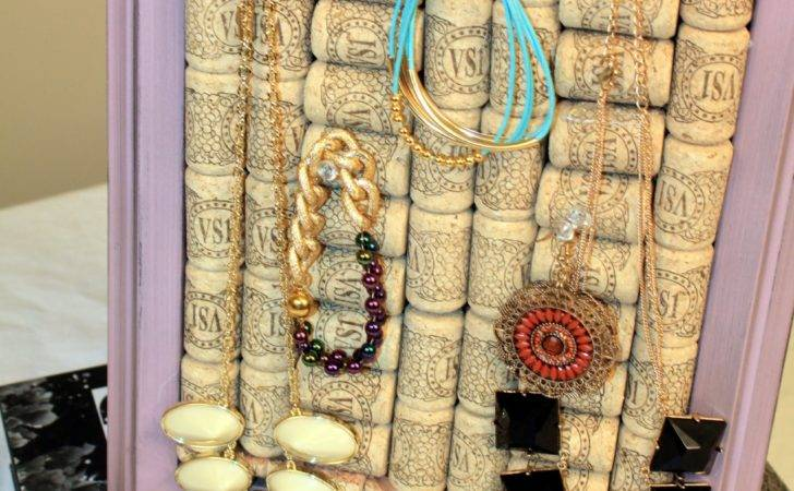 Diy Wine Cork Jewlery Holder Youtube