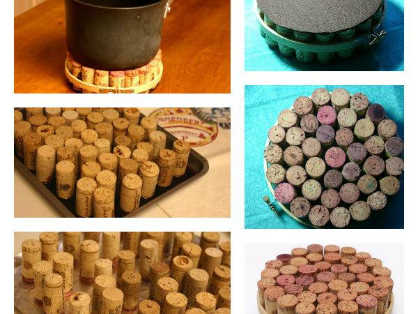 Diy Wine Cork Pot Holder Totally Love