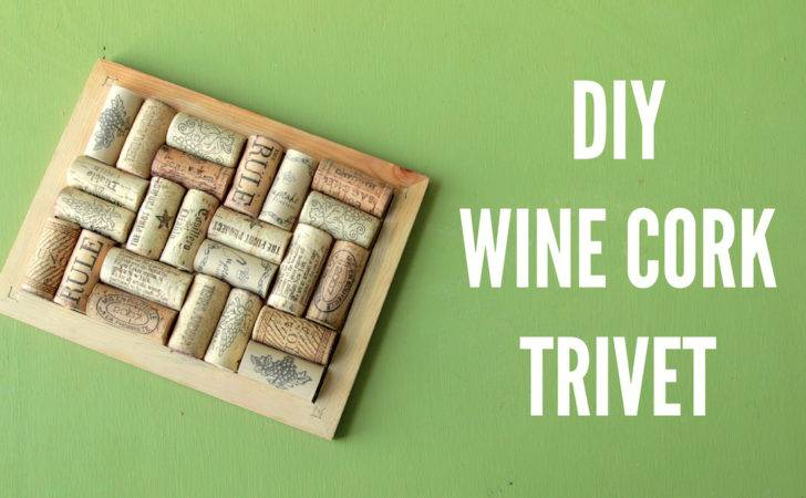 Diy Wine Cork Pot Holder