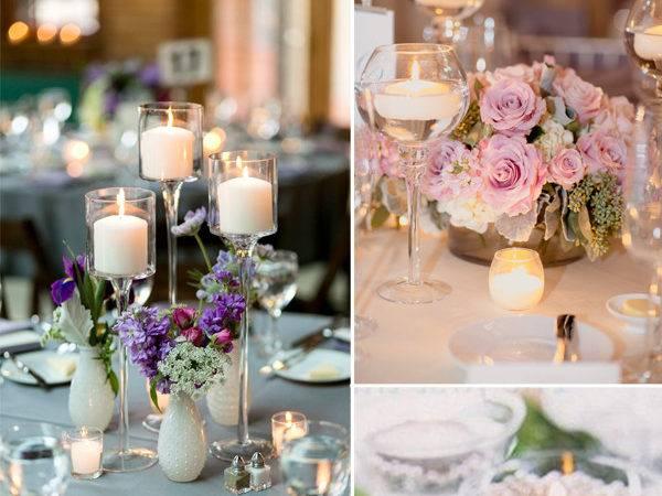 Diy Wine Glasses Centerpieces Vintage Wedding Ideas