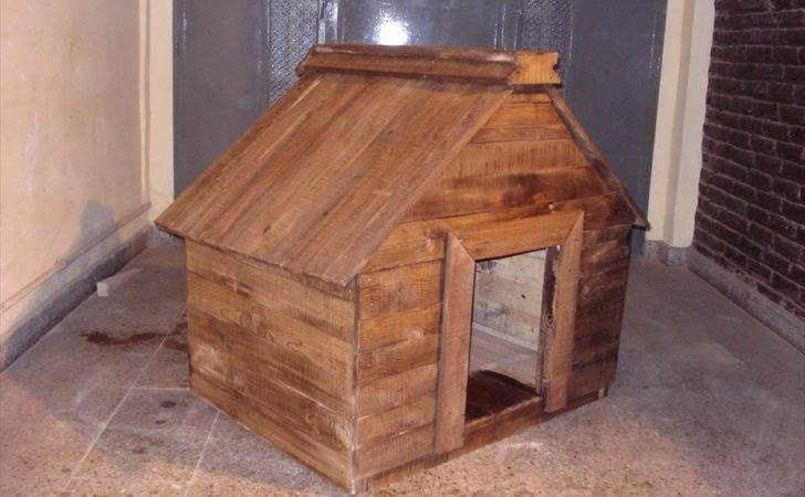 Diy Wood Pallet Dog House Living Style Pallets