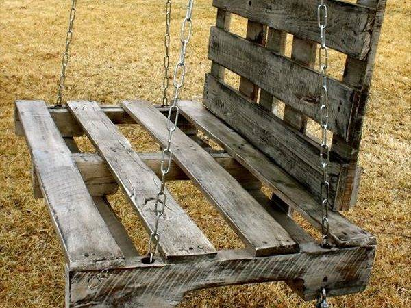 Diy Wood Pallet Swing Small Swings