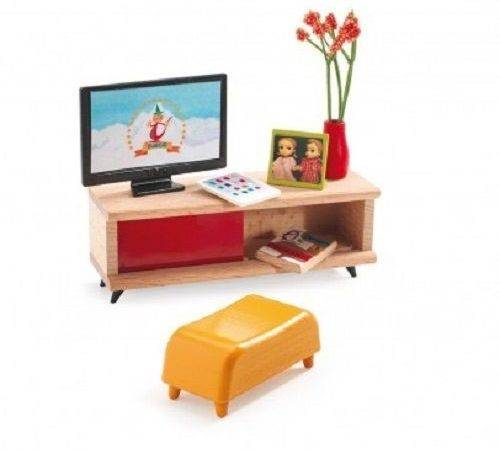 Djeco Modern Doll House Furniture Room Ebay