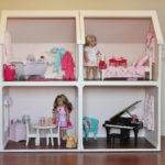 Doll House Plans American Girl Inch Dolls One Room