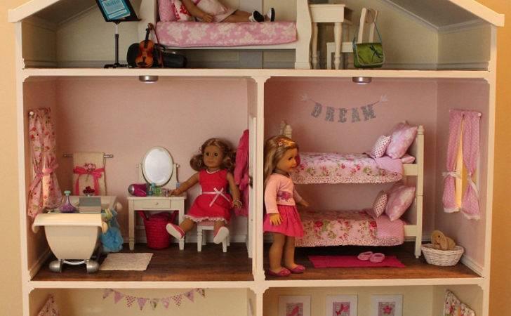Doll House Plans American Girl Inch Dolls Room