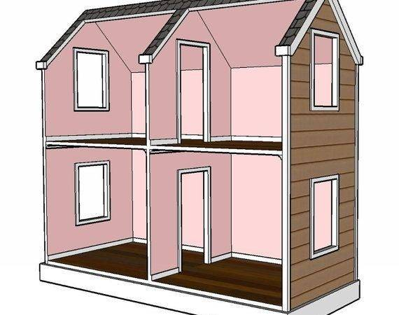 Doll House Plans Inch Woodworking Projects
