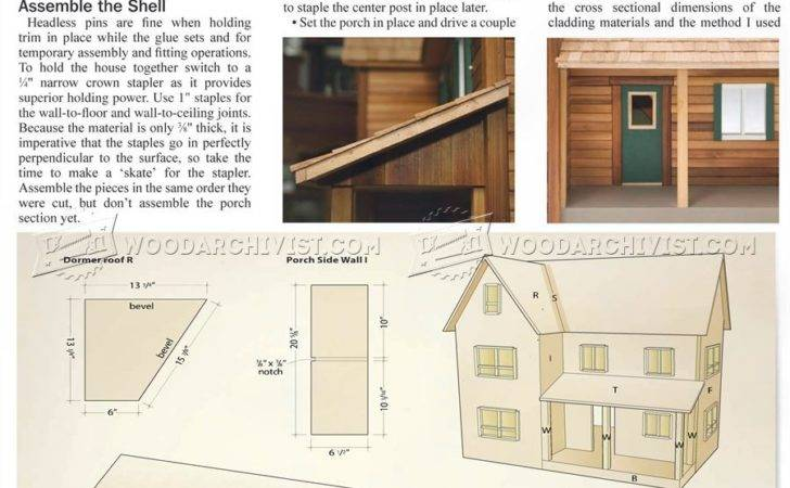 Doll House Plans Wooden Toy