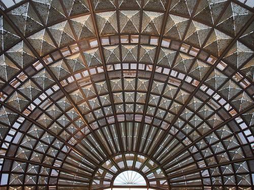 Dome Art Ceiling Vignes Side Building