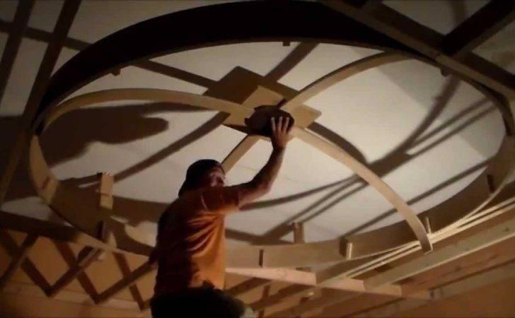 Dome Ceiling Building Framework Step Youtube
