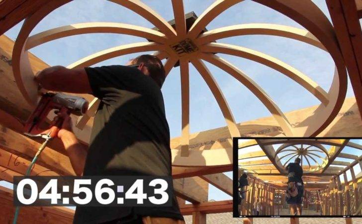 Dome Ceiling Construction Minutes Seconds Universal