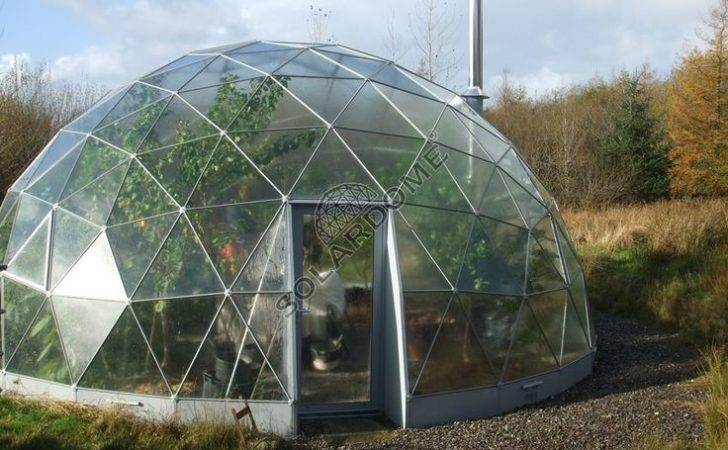 Dome Green House Domo Pinterest Geodesic Greenhouse