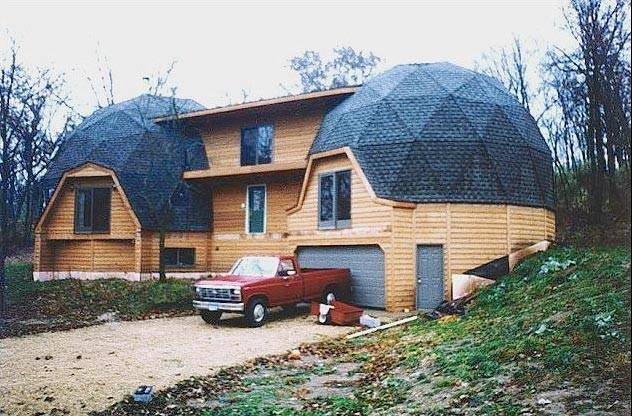 Dome House Kit Energy Structures Inc Geodesic