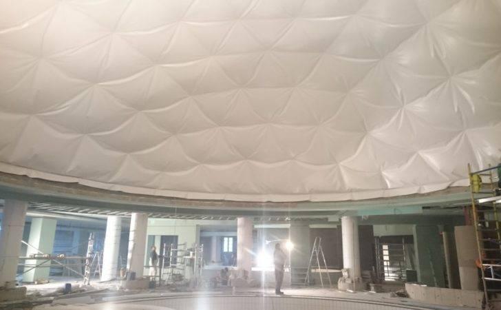 Dome Interior Ceiling Bir Tonas Lithuania
