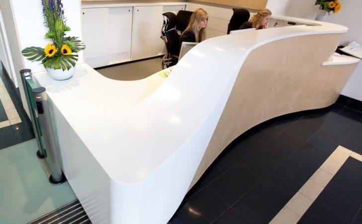 Dominique Brown Seb Reception Counter Design