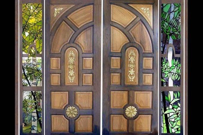 Door Designs Wooden Kerala Style Main
