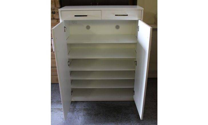 Door Drawer High Gloss Mdf Shoe Cabinet Australia Furniture