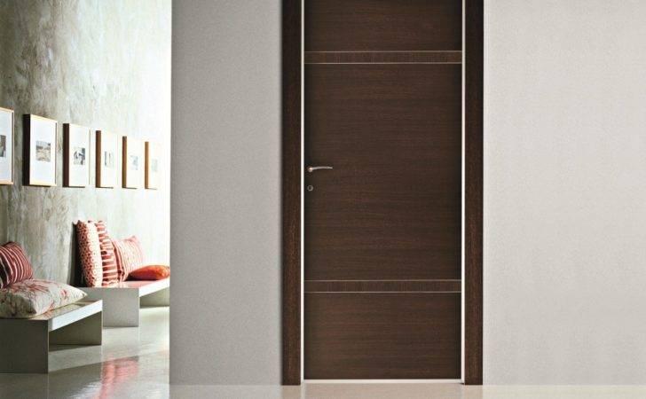Door Interior Design Modern Frame Wood Doors