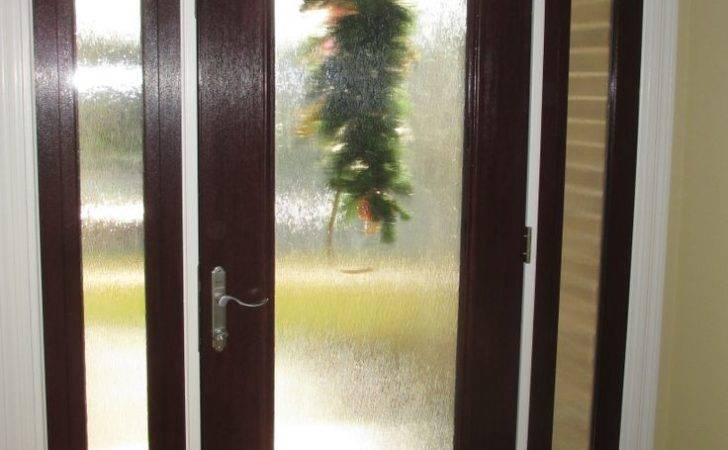 Door Stained Fiberglass Rain Glass Sidelites