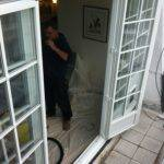 Doors Adjoining Stepped Look Balcony