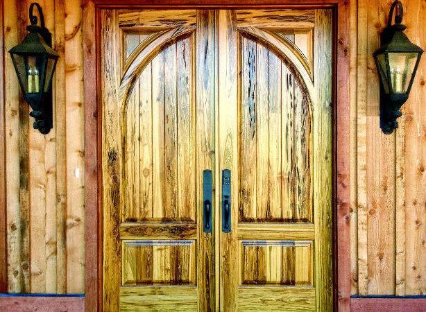 Doors Decora Country French Exterior Wood Door Collection