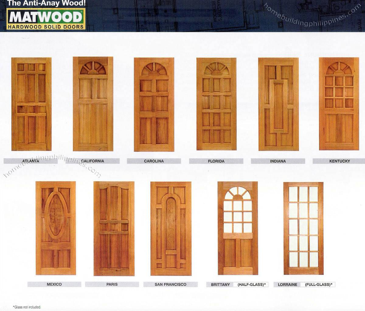Doors Wood Door Design Philippines Solid Hardwood