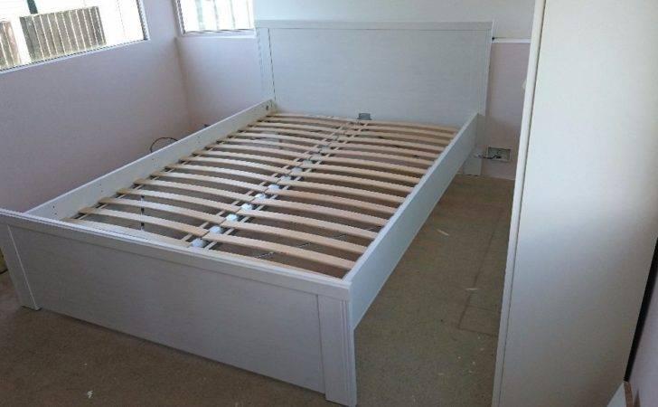 Double Bed Frame Ikea Brusali Slats Heybridge Essex