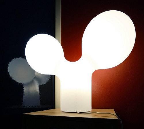 Double Bubble Lamp Designed Eero Aarn