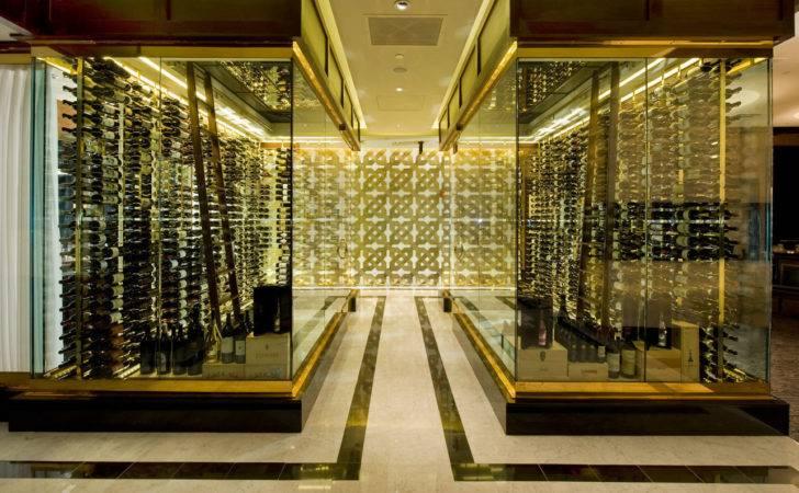 Double Glass Box Custom Wine Cellar