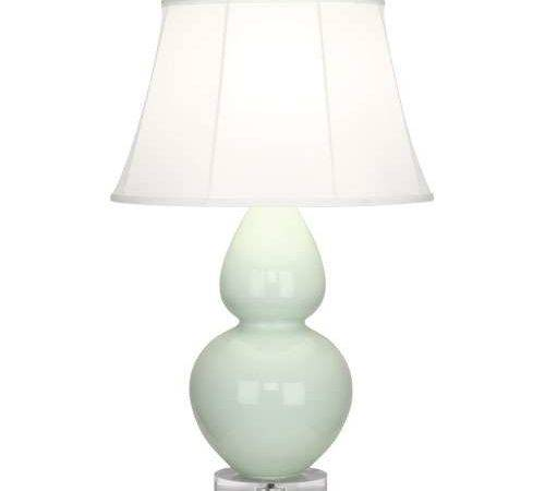 Double Gourd Lucite Table Lamp Large Robert Abbey Ylighting