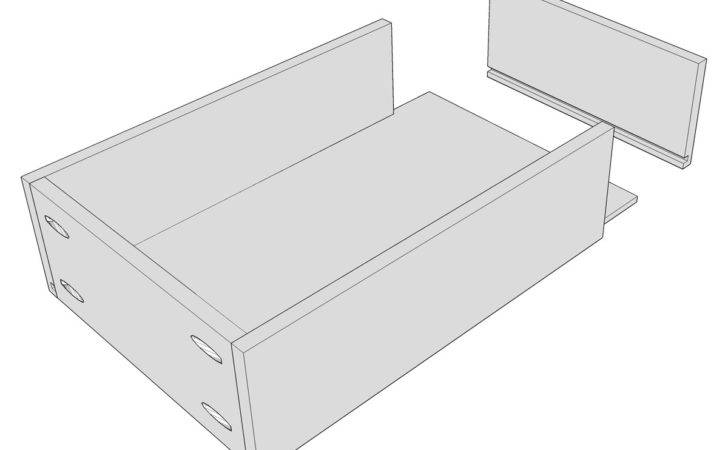Drawer Bottom Into Dadoes Box Sides