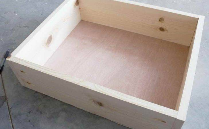 Drawers Tips Building Furniture Drawer Make