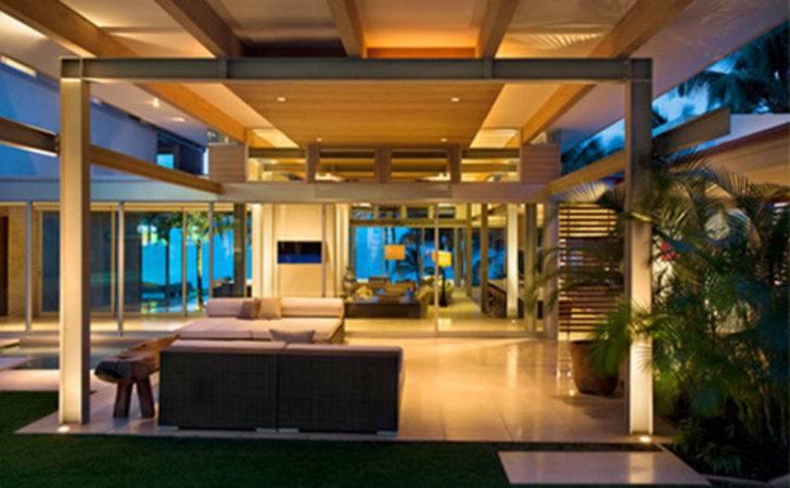 Dream House Design Modern Tropical Plans Maui