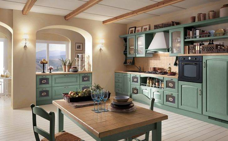 Dreamy Italian Kitchens Laced Refined Traditional