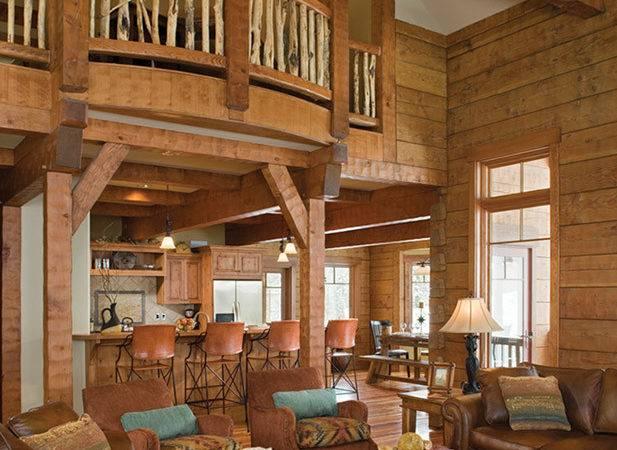 Dreamy Log Cabins Custom Home Idaho